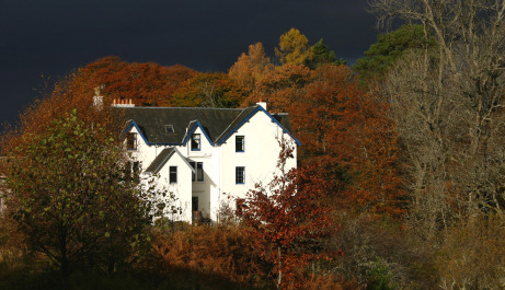 Autumn at Corriechoille